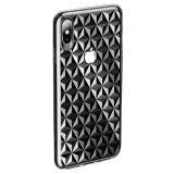 Cumpara ieftin Husa iPhone X/Xs Diamond Pattern Transparenta Usams