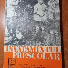 invatamantul prescolar nr.2/1973