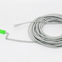 Sarpe pentru desfundat tevi 15 metri lungime 8mm diametru