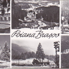 Bnk cp Poiana Brasov - Vedere - circulata, Printata