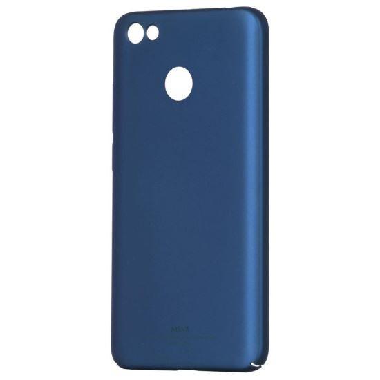 Husa MSVII Albastra Folie Protectie Sticla Pentru Xiaomi Redmi Note 5A Prime