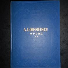 A. I. ODOBESCU - OPERE volumul 2  (1956, editie cartonata)