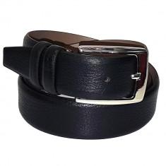 Curea barbati, din piele naturala, marca Bond, 3900-1, negru