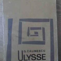 ULYSSE-G. CALINESCU