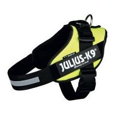 Julius K9 power ham pentru câine - galben neon , XL/96-138cm