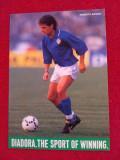 Foto fotbal - jucatorul ROBERTO BAGGIO (Italia,AC Milan,Juve,Fiorentina...)