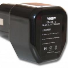 Acumulator pentru hitachi wie eb712s u.a. 7.2v, ni-mh, 3300mah, EB712S, EB714SFüR FOLGENDE GERäTE
