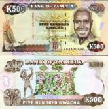 Zambia 1991 - 500 kwacha UNC