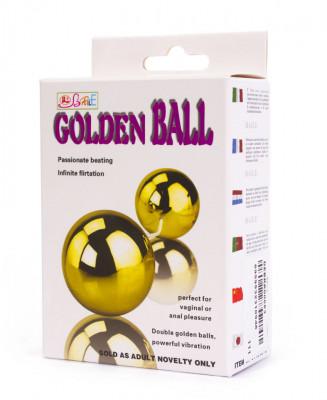 Bile Kegel cu vibratii Golden Balls foto