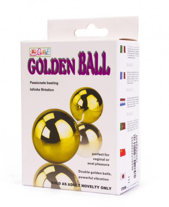 Bile Kegel cu vibratii Golden Balls