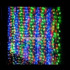 Instalatii Craciun Exterior Perdea 3x2.5m 512LED Multicolor 6019