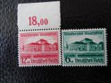 timbre deutsches reich -DESCHIDEREA TEATRULUI -SERIE COMPLETA-NESTAMPILATE