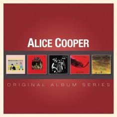 Alice Cooper Original Album Series (5cd)
