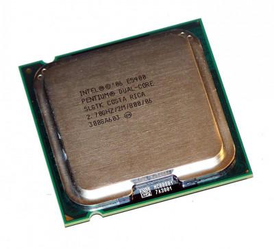 Procesor PC SH Intel Pentium Dual-Core E5400 SLGTK 2.7Ghz 2M LGA 775 foto