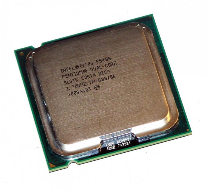 Procesor PC SH Intel Pentium Dual-Core E5400 SLGTK 2.7Ghz 2M LGA 775