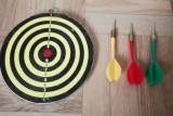 Joc Darts 2 fete cu 3 sageti