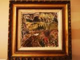 Tablou autentic Francois Gall, Peisaje, Ulei, Impresionism