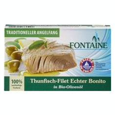 File de Ton in Ulei de Masline Bio 120gr Fontain Cod: 561497