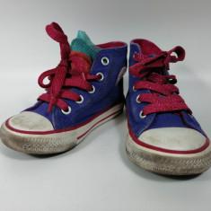 Tenisi / tenesi Converse pentru copii, mov, marimea 22