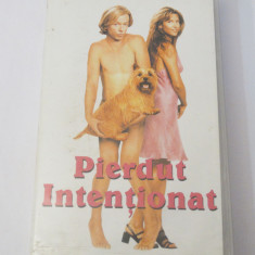 Caseta video VHS originala film tradus Ro - Pierdut Intentionat