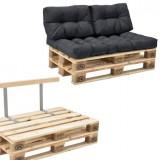 Garnitura completa mobilier paleti Model B - 2 x europalet, 1 x perna sezut, 2...
