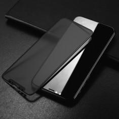 Folie de sticla 6D Apple iPhone X, Privacy Glass Elegance Luxury, folie...