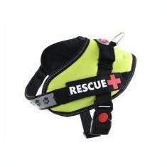 Ham pentru câini Rescue S 45 - 55 cm, verde