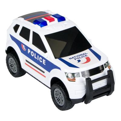 Masina politie Action Fun, 37 cm, 2 x AA, lumini si sunete, 3 ani+ foto