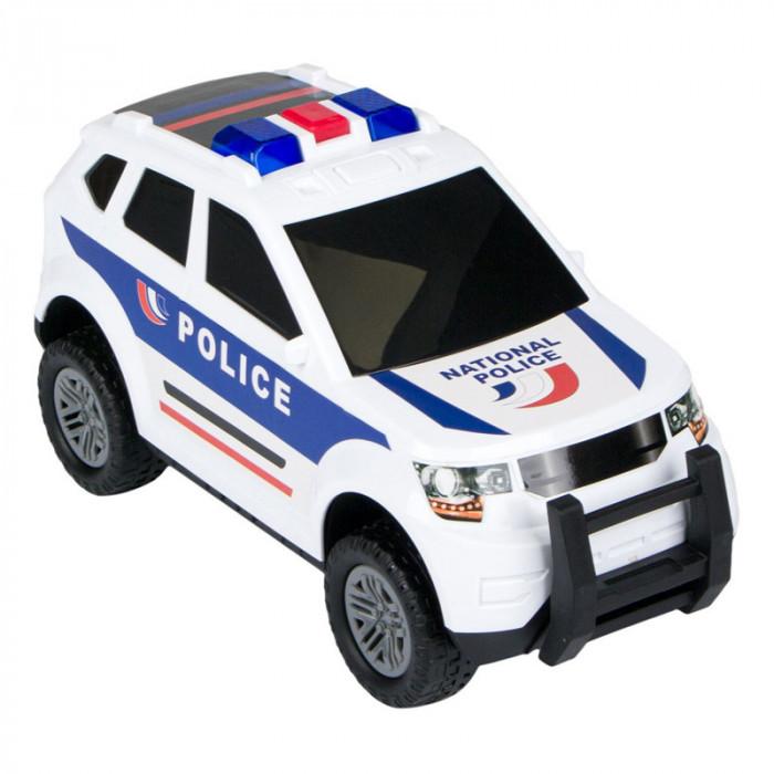 Masina politie Action Fun, 37 cm, 2 x AA, lumini si sunete, 3 ani+