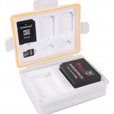 PATONA | Cutie pentru carduri si acumulatori Sony NP-FW50 Fuji NP-W126 NP W126s