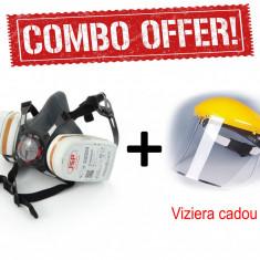 Masca protectie JSP - filtru A2P3 - ffp3 N95 N99 ORIGINALA + VIZIERA CADOU !!!!
