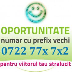 Numar Prefix Vechi 0722.77x.7x2 aur usor gold cartele vip cartela numere usoare
