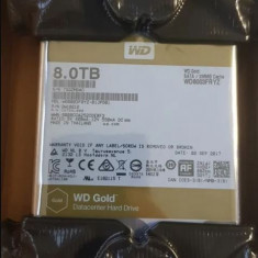 WD Gold 8TB Datacenter Hard Disk HDD 7200RPM SATA3 128MB WD8003FRYZ
