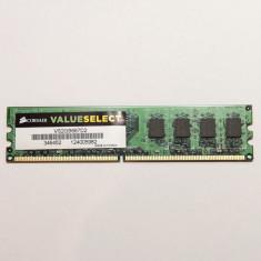 Memorie 2GB DDR2 667 Mhz Corsair VS2GB667D2, DDR 2, Kingmax