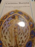 CARMINA BURA A - ANTOLOGIE DE POEZIE LATINA MEDIEVALA, EDITIE BILINGVĂ, 1998