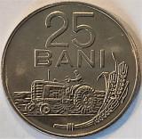 Moneda 25 Bani - ROMANIA, anul 1966 *cod 5074 = UNC