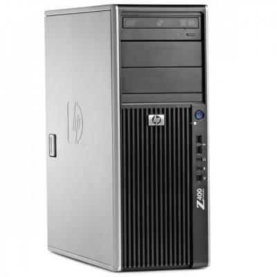 WorkStation HP Z400, Intel Xeon Hexa Core L5640 2.26GHz-2.80GHz, 12GB DDR3, 500GB SATA, Placa Video nVidia NVS300/512MB-64 biti, DVD-RW foto