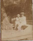 Fotografie ofiter roman poza veche romaneasca interbelica