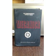 MECANICA - ILIE CONSTANTINESCU
