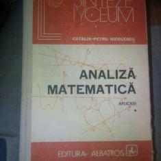 Catalin Pentru-Nicolescu - Analiza matematica