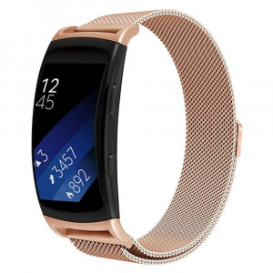 Curea otel inoxidabil Tech-Protect Milaneseband Samsung Gear Fit 2/Fit 2 Pro Rose Gold