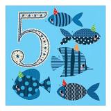 Felicitare - 5 fish | Soul UK