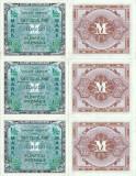 3x 1944 , 50 pfennig ( P-191a ) - Germania - stare aUNC