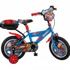 "Bicicleta copii UMIT Redman , culoare albastra , rota 14"" , otelPB Cod:1406000000"