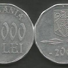 ROMANIA   5000  5.000  LEI 2001  [1]   XF+  ,  livrare in cartonas