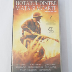 Caseta video VHS originala film tradus Ro - La Hotarul dintre Viata si Moarte