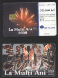 Romania 1999 Telephone card Happy New Year Rom 49 CT.050