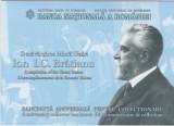 ROMANIA 2019 100 LEI Bancnota Comemorativa - Marea Unire -I.C. Bratianu UNC