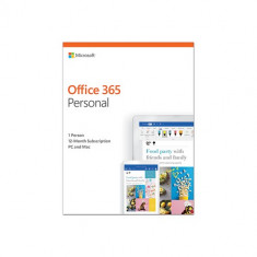 Microsoft Office 365 Personal English 2019 EuroZone Subscr 1YR Medialess P4