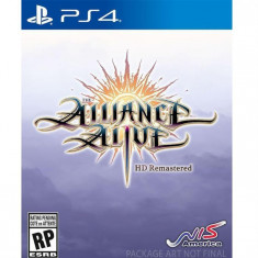 The Alliance Alive Remastered Day One Edition Ps4